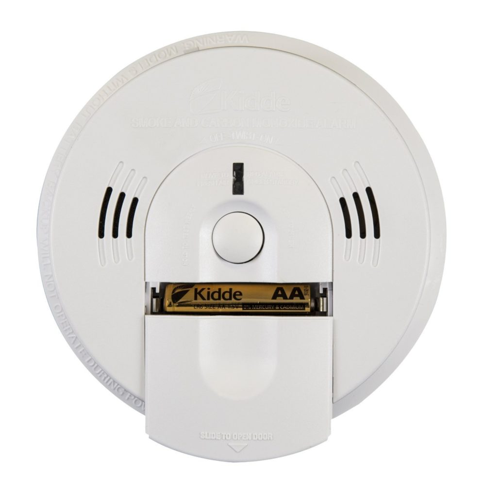 5 Pack Kidde 21010170 P3010K-CO Worry-Free Kitchen Photoelectric Smoke and Carbon Monoxide Alarm with 10 Year Sealed Battery
